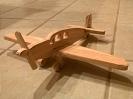 Einfach-Flugzeuge für den Weinachtsman